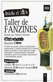 TALLER DE FANZINE