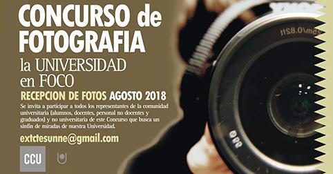 """CONCURSO DE FOTOGRAFÍA """"LA UNIVERSIDAD EN FOCO"""" UNNE"""