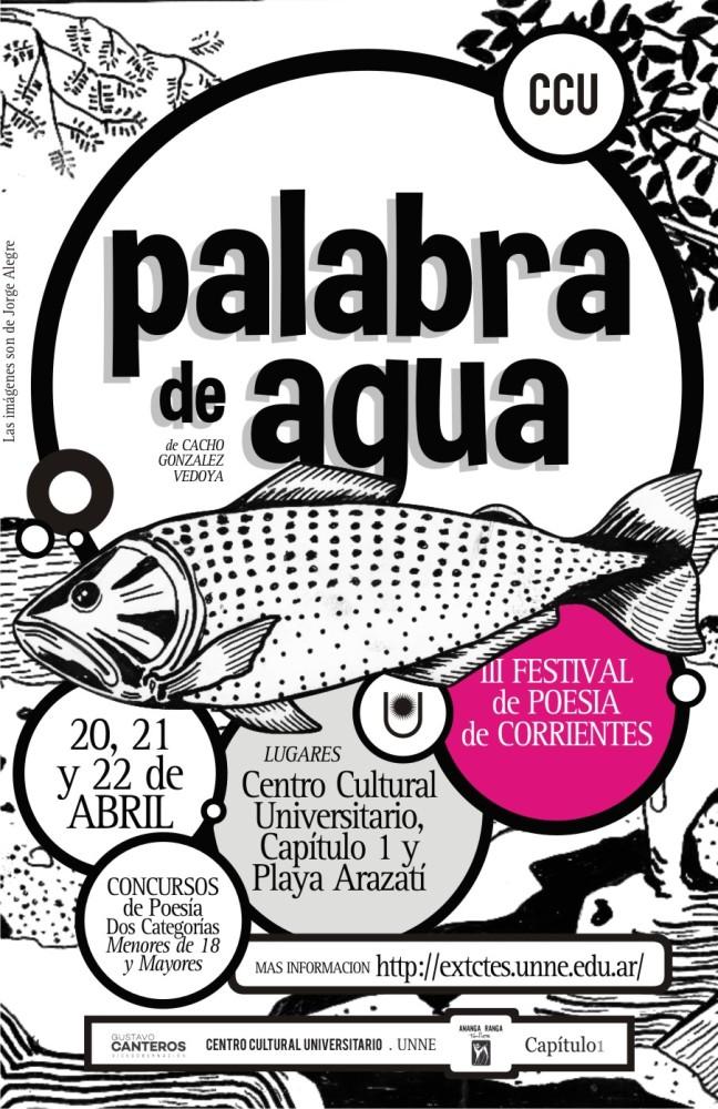 PABALBRAS DE AGUA - III FESTIVAL DE POESIA DE CORRIENTES